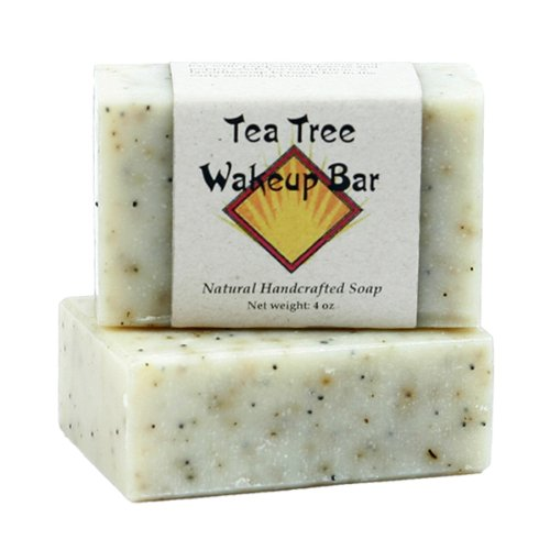 Tea Tree Oil Soap by MoonDance Soaps – Handmade Soap with Tea Tree and Peppermint Essential Oils