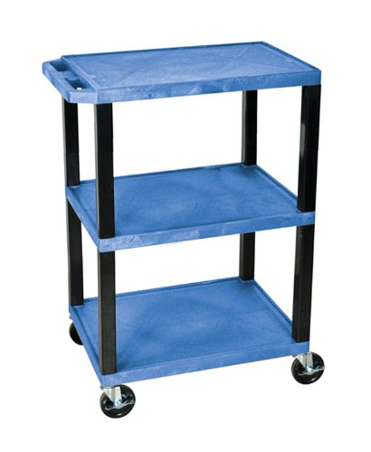 H WILSON WT34BUS Tuffy Utility Cart, Blue ()