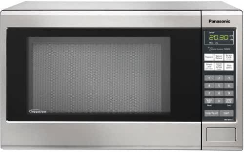 Panasonic NN-SN661S Countertop Microwave Oven with Inverter Technology, 1200W 1.2 Cu. Ft., Stainless