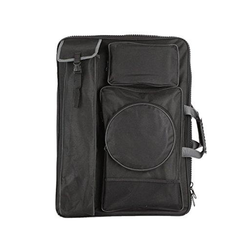 Bestwoo Black Art Supplies Handbag Backpack Bag Sketch Board Carry Portfolio by Bestwoo