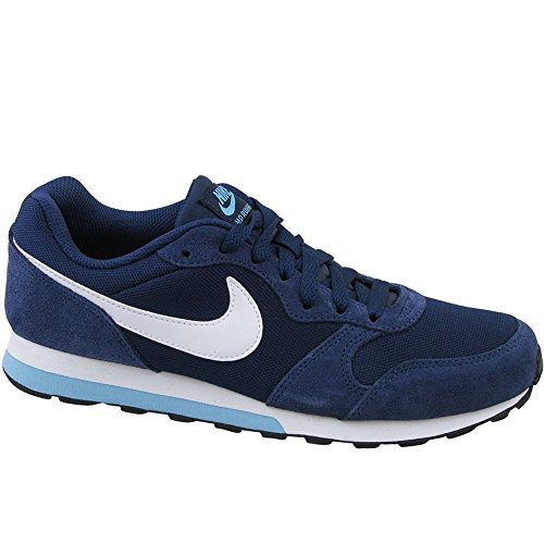 Price comparison product image NIKE Youth MD Runner 2 Blue Textile Trainers 37.5 EU