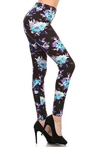 Print Leggings Mystic Rose (R507-OS)