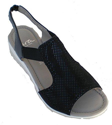 Ara 12-36017 Lido-Sand mujer sandalia Azul
