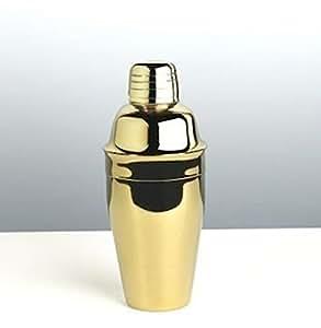 Franmara Premium Cocktail Shaker Set - 8 oz Gold Plated