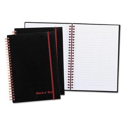 Twinwire Semi Rigid Notebook Plus Pack, Legal, 8 1/4 x 5 7/8, 70 Sheets, 3/PK