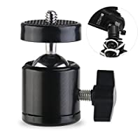 "Pixnor 1/4"" Screw Tripod Mini Ball Head for DSLR Camera Camcorder Light Bracket Swivel"