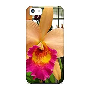 New Premium NikRun Cattleya Skin Case Cover Excellent Fitted For Iphone 5c