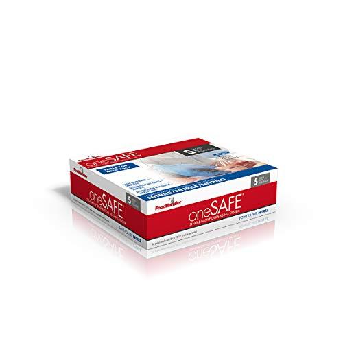 oneSAFE 103-1TT-212 oneSAFE Blue Table Top, Nitrile, SM, Light Blue (Pack of 1000) by oneSafe (Image #1)