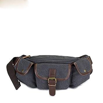 b24747a12 Bolsa de Viaje de Dinero de Vacaciones Holiday Sat Lienzo Delgado y  Resistente a la Cintura Paquete de Bolsas para ...