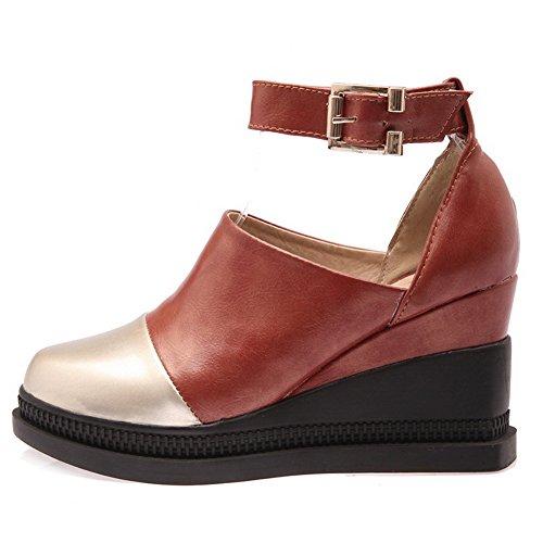 1to9 Chaussures À Talons Hauts Pour Femmes, Jaune (jaune), 35