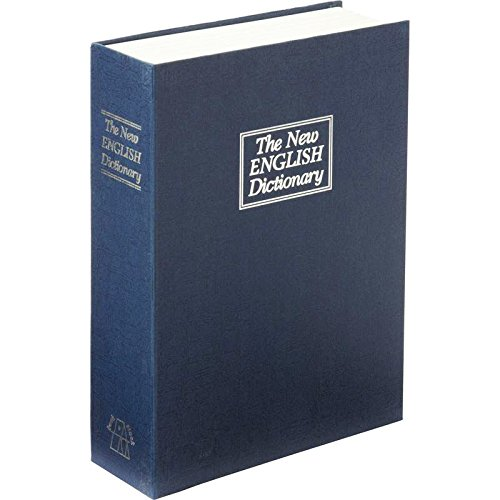 Trademark Home Dictionary Diversion Book Safe with Key Lock, Metal - Full Size