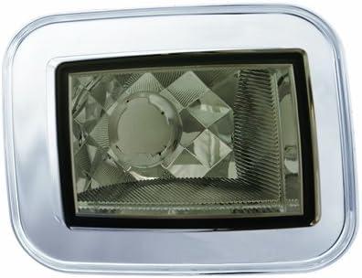 IPCW CWC-348CS Platinum Smoke Diamond-Cut Front Park Signal Lamp - Pair