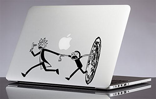 Interdimensional Portal  Rick And Morty Apple Macbook Laptop