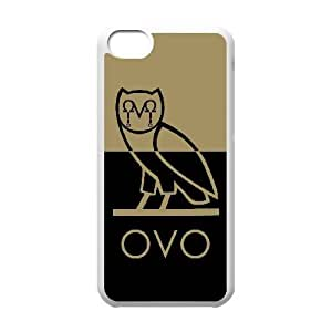 Drake Ovo Owl iPhone 5c Cell Phone Case White W2275250