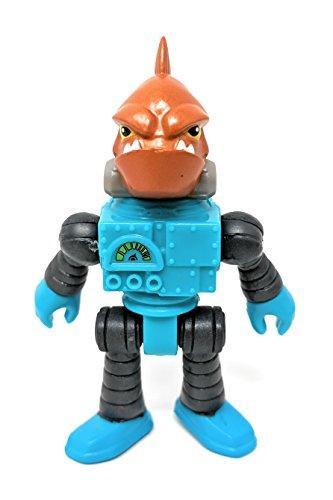 Imaginext Series 11 Fish Robot Man 2.5