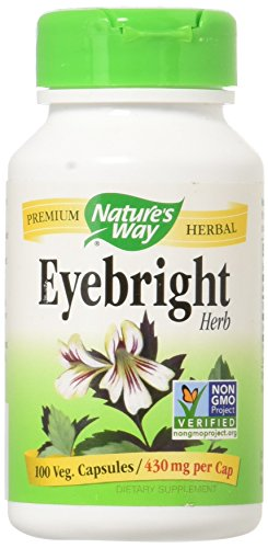 Eyebright Herb Natures Way 100 Caps