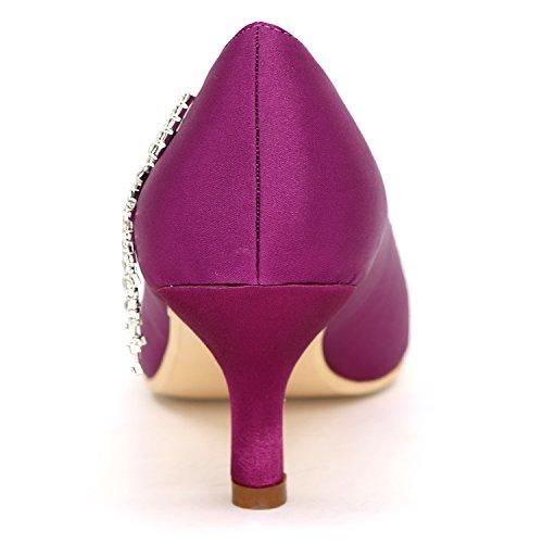 Plattform Hochzeit Ferse Weiße Elobaby Spitze 1195 Mode Geschlossene 6 Neue cm 01B Frauen Glitter Schuhe Satin Elfenbein qgaaAxt
