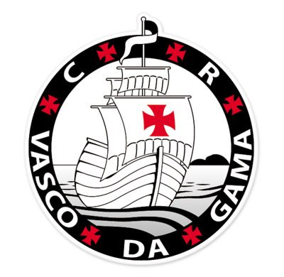 CR Vasco Da Gama - RJ - Brazil - Brasil Football Soccer Futbol - Car Sticker