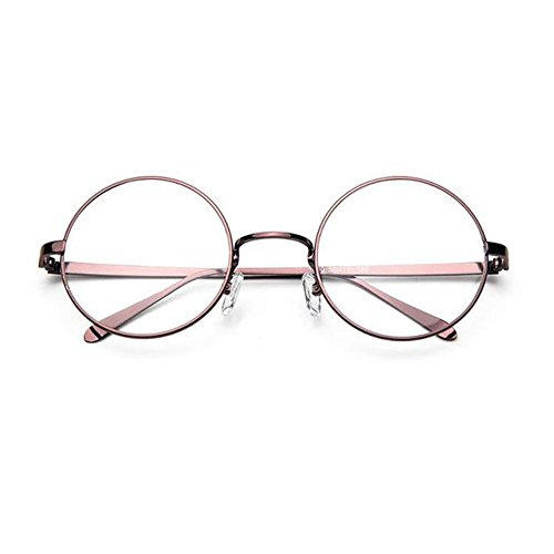 55d14e0fbd Xinvision Vintage Metal Round Frame Short Sight Eyewear Retro Style Nearsighted  Myopia Glasses CR-39 Resin Glasses -1.00~-6.00 (These are not reading ...