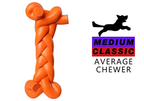 MewaJump Dog Toys for Aggressive Chewers Small Breed, Durable Rubber Dog Toys, Soft Dog Chew Toys for Small/Medium Dogs…