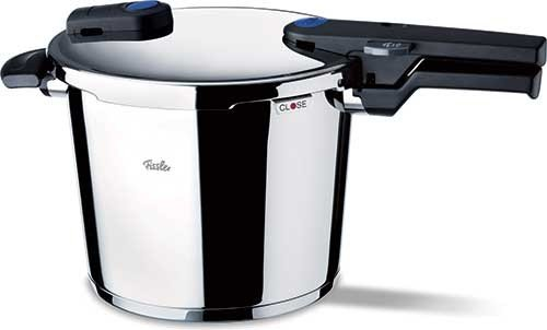 Fissler FSSFIS5860 Vitaquick FIS5860 with Perforated Inset, 10.6 quart, Stainless Steel by Fissler