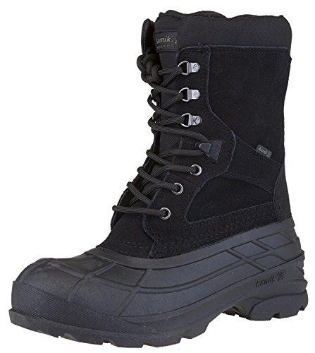 Kamik Men's Nationplus Boot (11 D(M) US, Black) (King Stores Living)