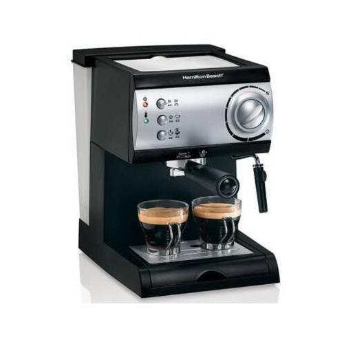 Hamilton Beach Espresso Maker powerful 15-bar Italian pump by Hamilton Beach