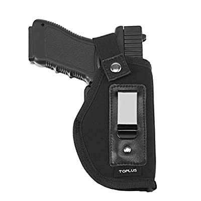 Inside The Waistband Holster, TOPLUS Universal IWB Pistol Holster for Concealed Carry, Fits GLOCK / S&W M&P Shield 9 / Ruger LC9 LC380 / Springfield XD Series and All Similar Handguns