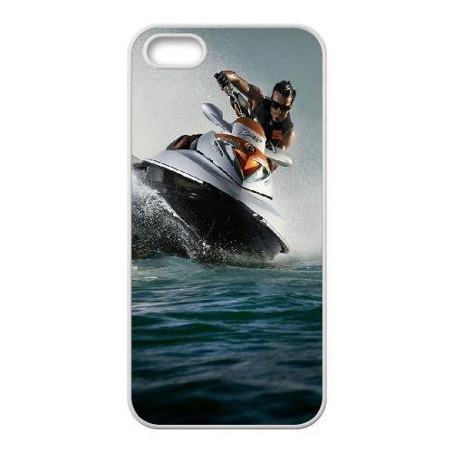 Water Sports coque iPhone 4 4S cellulaire cas coque de téléphone cas blanche couverture de téléphone portable EOKXLLNCD20688
