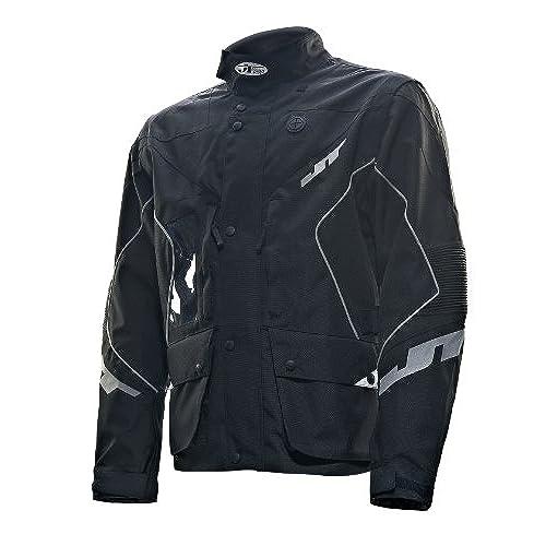 JT Racing USA Six Days Dirt Bike Enduro Jacket (Black, X-Large)