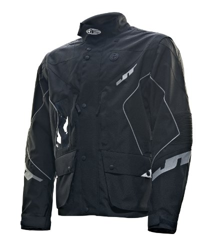 JT Racing USA Six Days Dirt Bike Enduro Jacket (Black, - Racing Jackets Bike