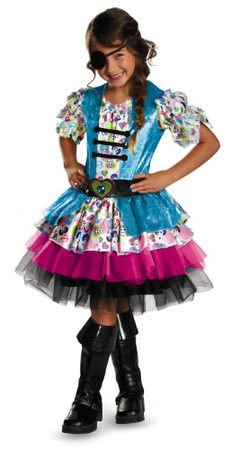 Disguise Tutu'riffic Playful Pirate Girls Costume, Small (4-6X)]()