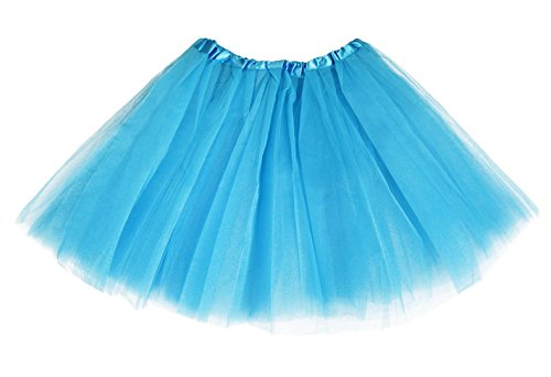 Blue 2 Satin Skirt - 4