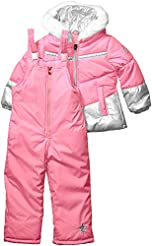 London Fog Girls' Snowsuit with Snowbib ...