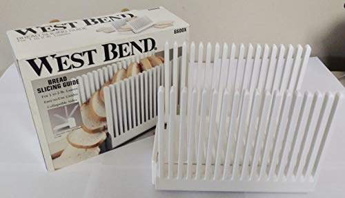 West Bend - Bread Slicing Guides - 6600X - 1 to 2 Lb Loaves (Presto Bread Slicing Guide)