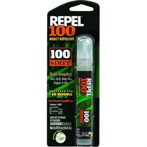 BUG RPL 100% DEET .475OZ by REPEL MfrPartNo HG-94098