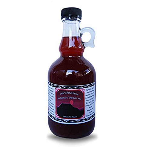Montana Chokecherry Margarita Daiquiri Cocktail - 17 oz Mix is Grown & Hand Picked for Bounty Foods - Vegan Friendly - For a Unique Western Style Drink Experience for Cinco De Mayo (CCMAR 17oz) ()