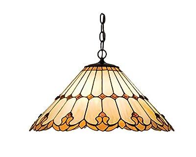 Victorian Tiffany Nouveau 3 Light Cone Pendant