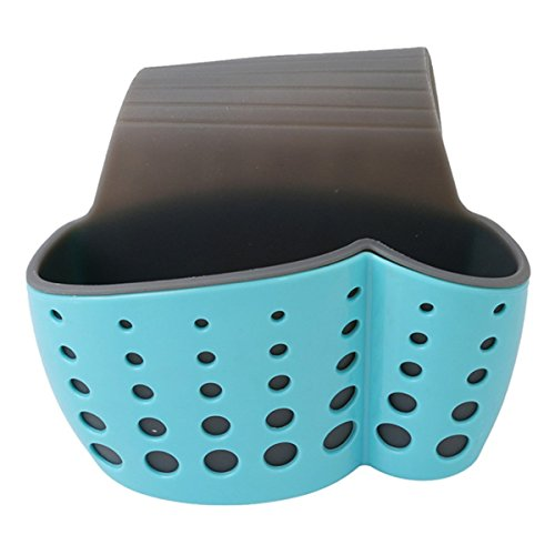 Tacoli- Kitchen Baskets Suction Cup Sink Shelf Soap Sponge D