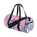 Llama Women's Duffel Bag Travel Tote Luggage Bag Gym Sports Luggage Bag