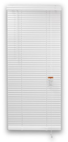 DEZ FURNISHINGS 28133 1-Inch Premium Vinyl Blind, 29-Inch W X 84-Inch L, White by DEZ Furnishings (Image #3)