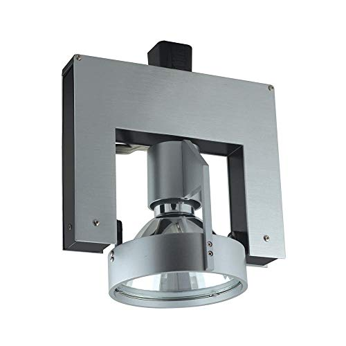 Jesco Lighting HMH702T4NF70A Contempo Series Metal Halide Track Head for H 3-Wire Single Circuit Track System, Aluminum