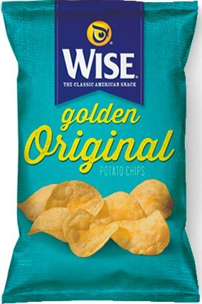 Wise All Natural Potato Chips, 1.25-Oz Bags (Pack of 36)