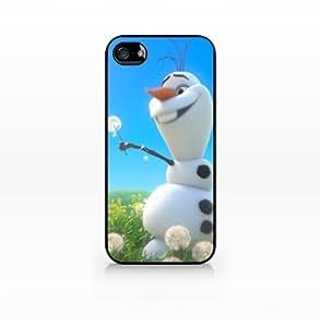 Olaf, Disney Frozen-iPhone 4 case, iPhone 4s case, Hard Plasic, Black case SCC-IP4-007 BLACK