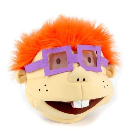 Maskimals Plush Head Halloween Costume, Rugrats Chuckie ()