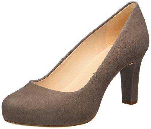 Unisa Numis_17_ks, Zapatos de Tacón para Mujer Marrón (Lodo)