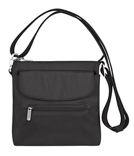 Travelon Anti-Theft Mini Shoulder Crossbody Bag - RFID Blocking Protection Purse