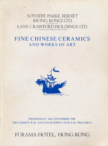 (Fine Chinese Ceramics and Works of Art, Hong Kong, 26 November,)