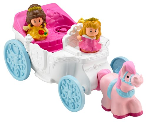 Princess Coach - Fisher-Price Little People Multi Princess Coach