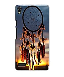 Tomhousomick Case Cover for Huawei Ascend P6 Dream Catcher Ethnic Tribal Dreamcatcher